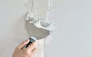 Как шпаклевать гипсокартон под покраску — пошаговые иллюстрированные инструкции