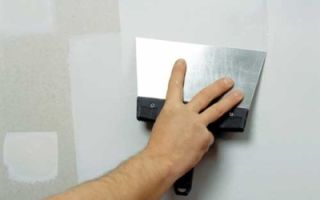 Расход шпатлевки на 1 м² стены — как рассчитать, учитывая все факторы