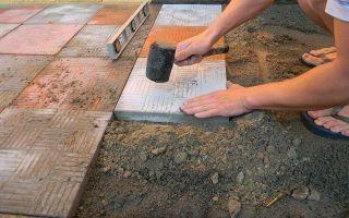 Укладка тротуарной плитки своими руками — облагораживаем участок