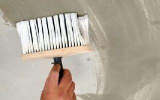 Побелка потолка своими руками — пошаговая инструкция