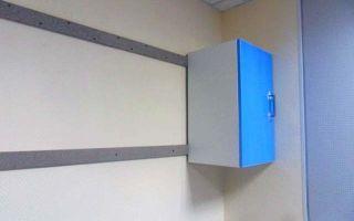 Как повесить шкаф на гипсокартонную стену — все способы + инструкции