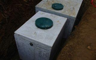 Вставка в бетонный септик — для чего нужна, разновидности, монтаж