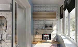 Балкон в стиле лофт — рассматриваем возможные варианты