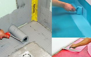 Гидроизоляция пола в ванной комнате — материалы и основы технологии их укладки