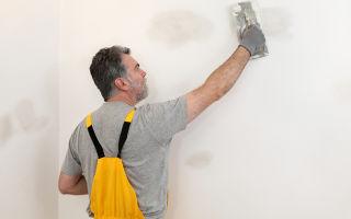 Шпаклевка стен под обои своими руками — пособие для начинающих
