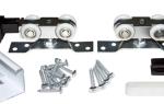 Раздвижные двери на роликах своими руками — пошаговая инструкция