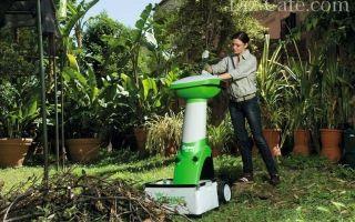 Садовый измельчитель,  какой выбрать — полезные рекомендации и обзор моделей