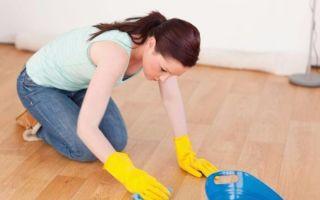 Пятна на линолеуме — методы очистки и рекомендации, чем выводить пятна