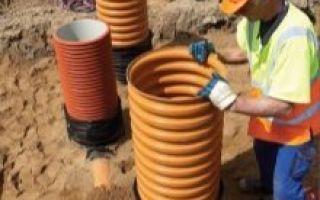 Пластиковые кольца для колодца — назначение, разновидности, монтаж