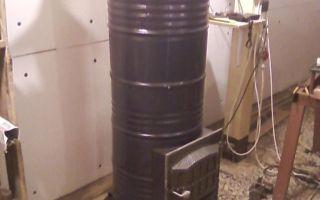 Печь длительного горения для гаража — чертежи и пошаговые инструкции