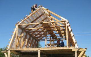 Ломаная крыша стропильная система расчет с размерами — проектируем самостоятельно