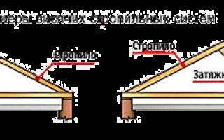 Мауэрлат для двухскатной крыши своими руками — несколько вариантов монтажа
