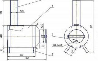 Как сделать буржуйку в гараж — варианты для самостоятельного изготовления