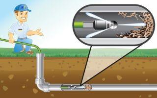Чем прочистить канализационные трубы в частном доме — варианты в домашних условиях