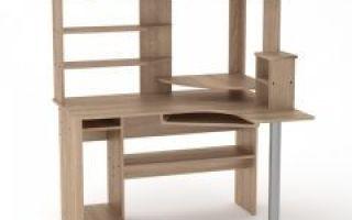 Стол компьютерный с полками и ящиками — пошаговая инструкция