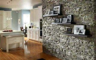 Искусственный камень в интерьере: делаем декорирование стен своими руками
