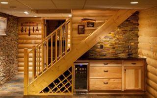 Как оформить пространство под лестницей — делаем сами