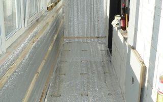 Утепление лоджии и балкона изнутри — пошаговая инструкция + видео