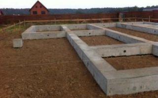 Какой фундамент выбрать для дома из бруса — обзор возможных вариантов