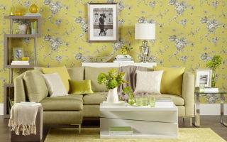 Как выбрать обои для зала — полезные рекомендации и обзор готовых решений