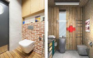Дизайн туалета — самые лучшие дизайнерские решения