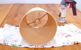 Как сделать абажур своими руками — несколько доступных вариантов абажуров для лампы
