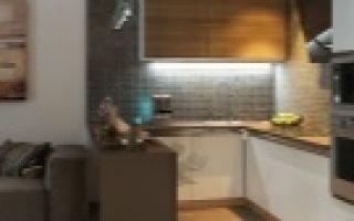 Дизайн кухни гостиной — правила составления проекта, лучшие варианты интерьера