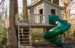 Домик на дереве своими руками — инструкция по строительству