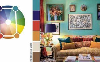 Сочетание цветов в интерьере таблица и варианты — самостоятельно проектируем сочетание цвета