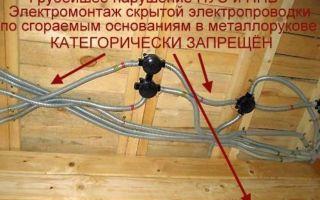 Как сделать проводку в деревянном доме — важно знать