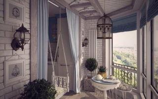 Оформление балкона или лоджии — все зависит от функциональности помещения