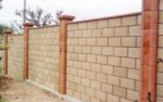 Забор из камня своими руками — пошаговая инструкция
