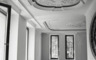 Лепнина в интерьере — использование в различных стилях отделки на стенах