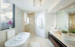 Светильники точечные в ванную комнату — виды, выбор и монтаж