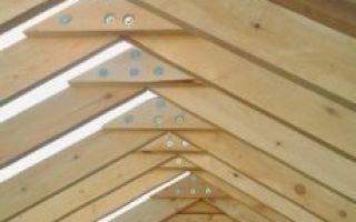 Как сделать крышу на бане — расчеты для монтажа крыши своими руками