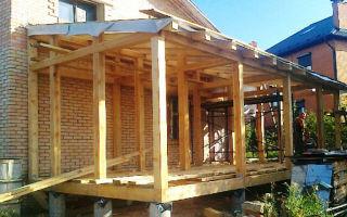 Как сделать крышу на пристройке к дому — изучаем возможные варианты