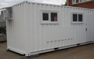 Контейнерoff® — лучшее решение для строительной площадки — преимущества контейнера бытовки