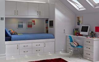 Как сделать встроенную мебель — несколько доступных вариантов