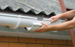 Как установить водостоки если крыша уже покрыта — рассматриваем варианты монтажа, как установить правильно