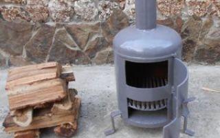 Буржуйки на дровах своими руками — варианты для изготовления