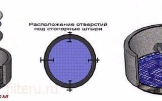 Донный фильтр для колодца — варианты обустройства с инструкциями