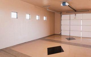 Отделка гаража внутри — основные материалы и технология их монтажа