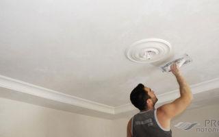 Как шпаклевать потолок под покраску — инструкция для начинающих