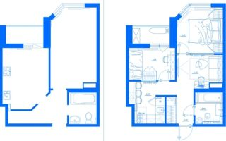 Перепланировка однокомнатной квартиры в двухкомнатную: правила и варианты — 5 лучших идей для разделения комнаты