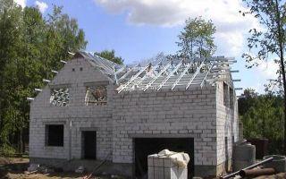 Дом из газобетона своими руками — пошаговая инструкция