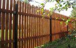 Деревянный забор своими руками — инструкция пошагово