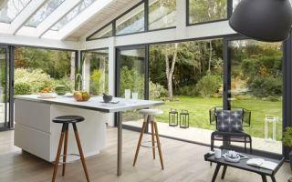 Проекты одноэтажных домов с террасой — 70 современных идей
