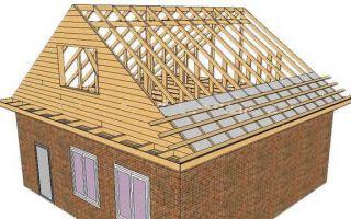 Установка стропил двухскатной крыши своими руками — расчеты и подробная иллюстрированная инструкция