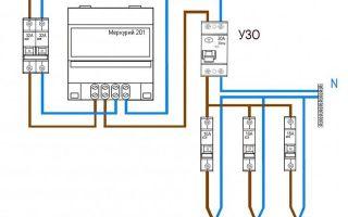 Схема подключения электросчетчика — пошаговая инструкция