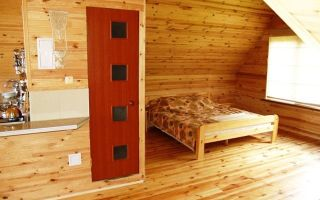 Отделка деревянного дома внутри — обзор доступных вариантов